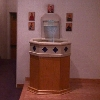 Baptismal Font/ Waterfeature. St. Josephs Catholic Church. 2nd and Main St.Prineville, Or.