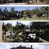 Sunriver Lodge- Sunriver, Or. Collage of main lodge landscape  renewal.